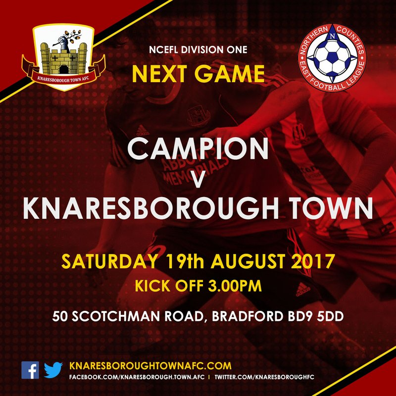 19.8.17 Campion v Knaresborough Town