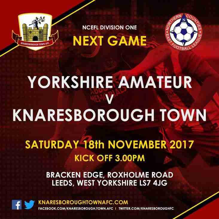 Yorkshire Amateur v Knaresborough Town