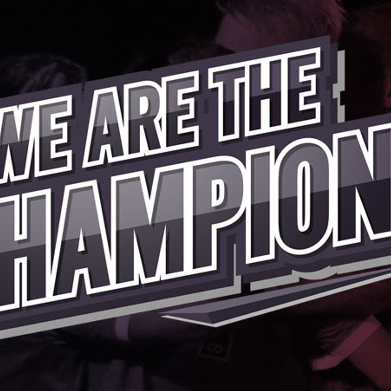 Knaresborough Town are the champions of NCEL Division One!!