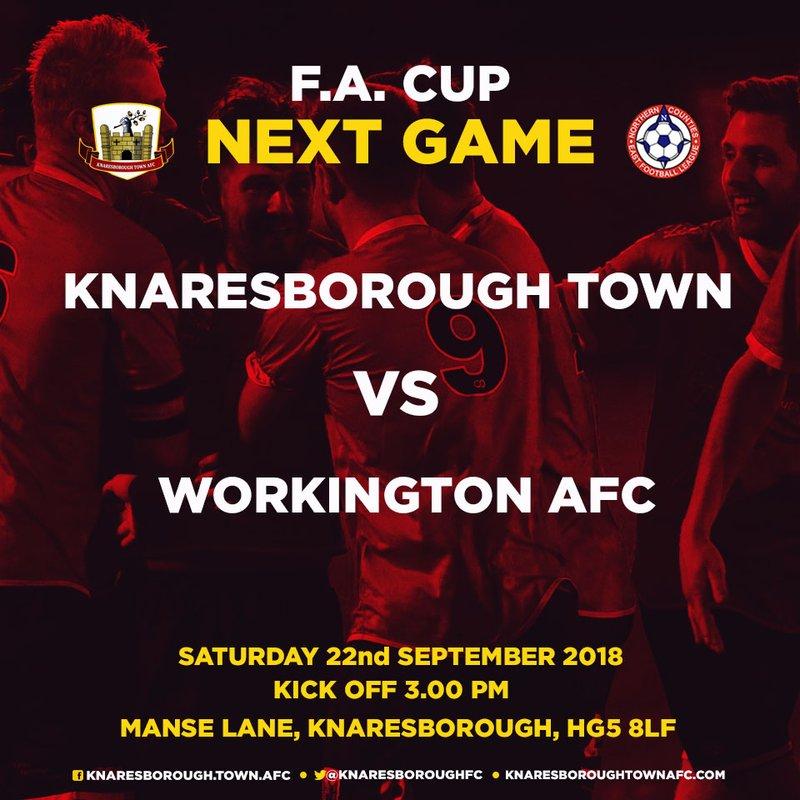 22.9.18 - Knaresborough Town vs Workington AFC (FA Cup)