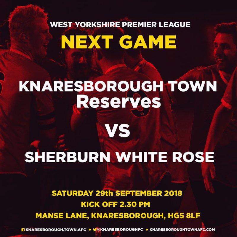 29.9.18 - Knaresborough Reserves v Sherburn White Rose
