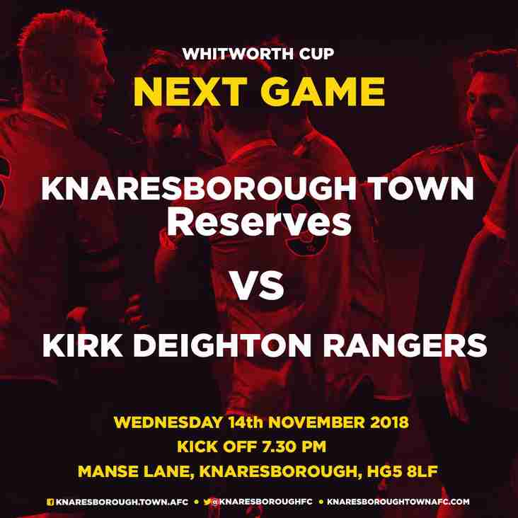 17.11.18 - Robin Hood Athletic v  Knaresborough Reserves