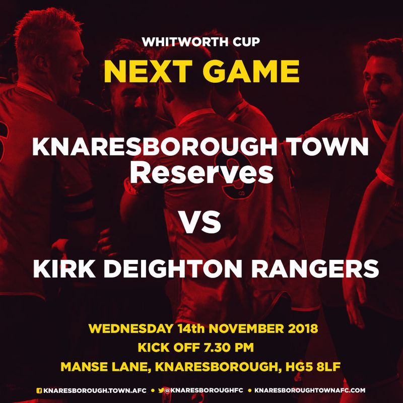 17.11.18 - Robin Hood Athletic v  Knaresborough Reserves