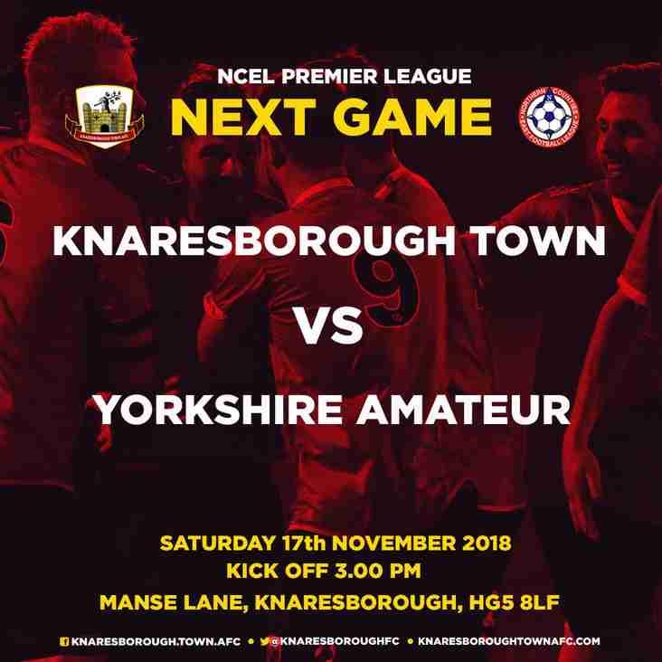 17.11.18 - Knaresborough Town v Yorkshire Amateur