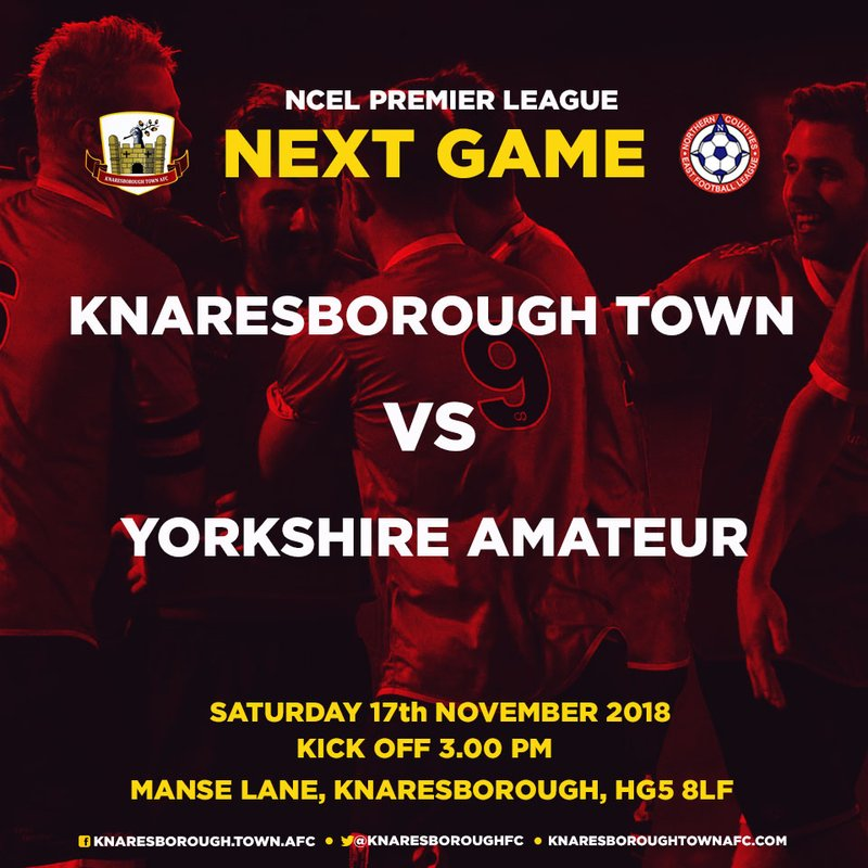 17.11.18 - Knaresborough Town v Yorkshire Amateur