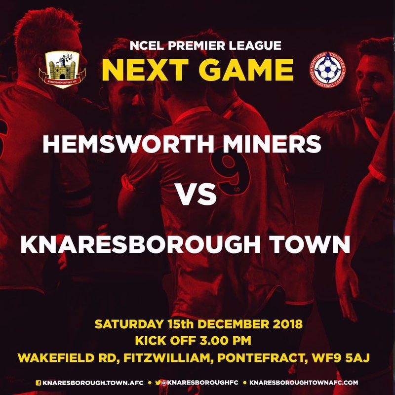 15.12.18 - Hemsworth Miners Welfare v Knaresborough Town