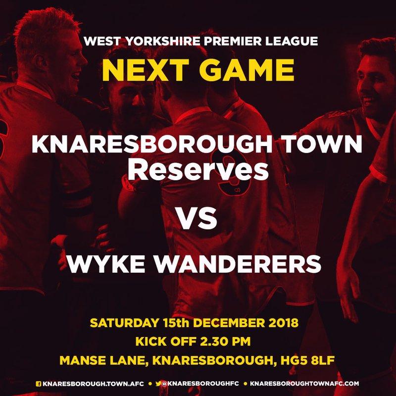15.12.18 - Knaresborough Reserves v Wyke Wanderers