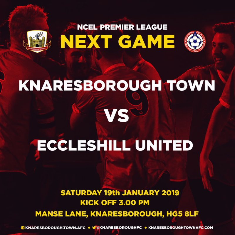 19.1.19 - Knaresborough Town vs Eccleshill Utd