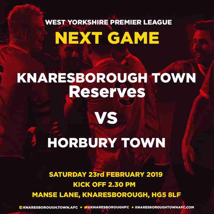 23.2.19 - Knaresborough Town Reserves v Horbury Town