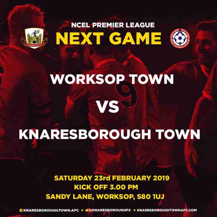 23.2.19 - Worksop Town v Knaresborough Town