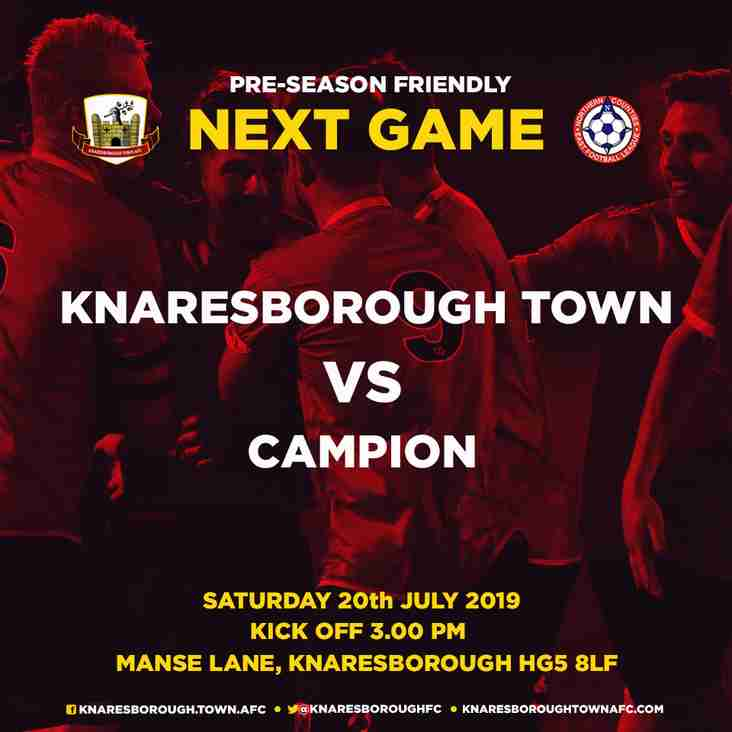 20.7.19 - Knaresborough Town v Campion