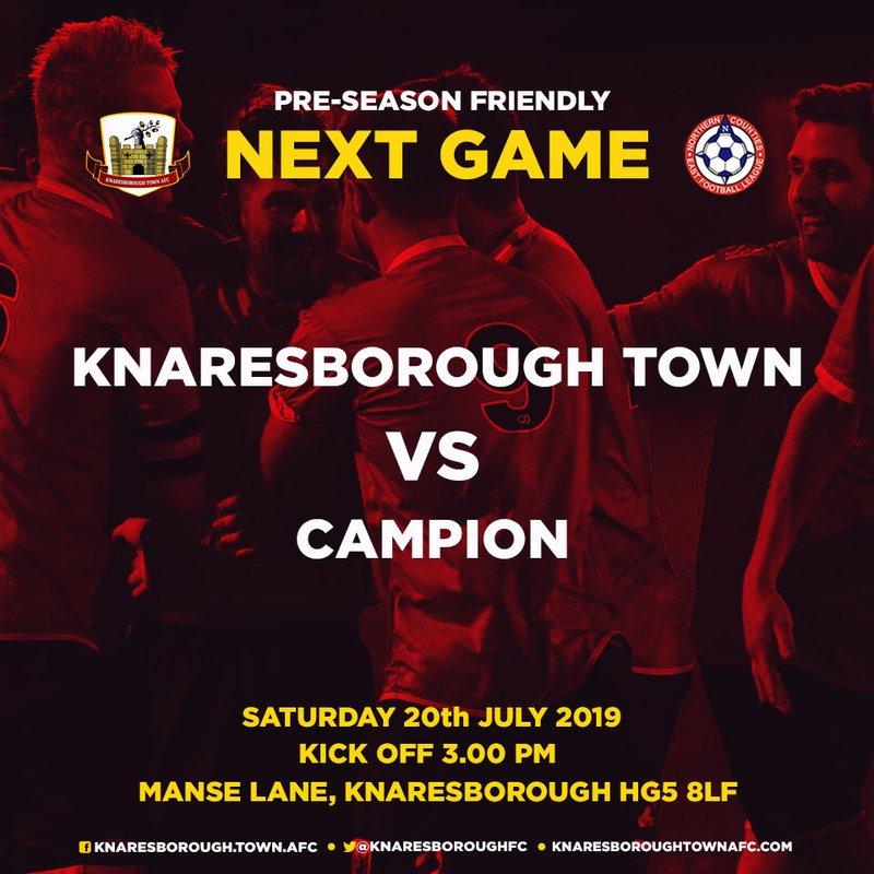 20.7.19 - Knaresborough Town v Campion