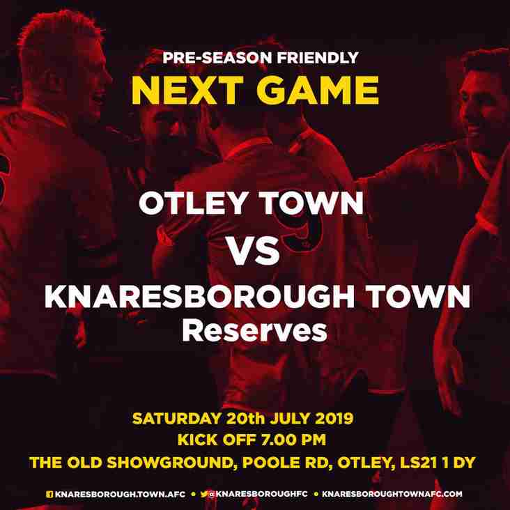 20.7.19 Otley Town v Knaresborough Reserves