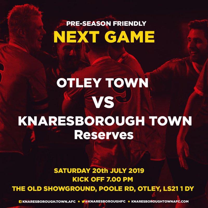 20.7.19 Otley Town v Knaresborough Reserves