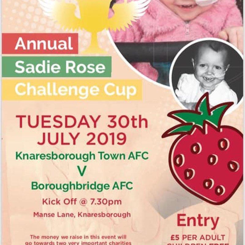 30.7.19 -  Sadie Rose Challenge Cup