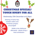 Christmas Special - Touch Rugby for All
