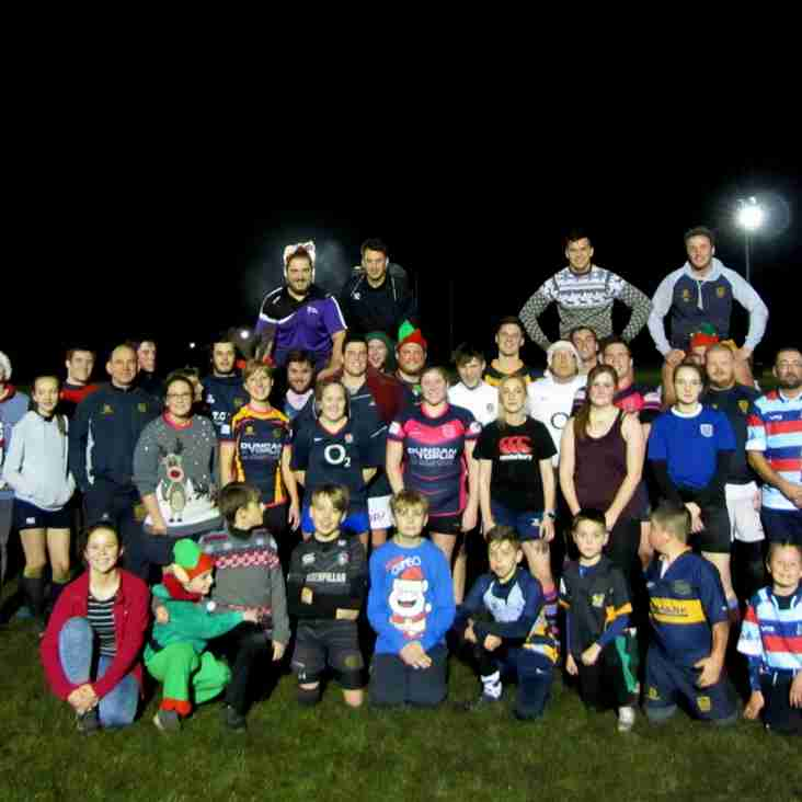 Christmas Touch Rugby Session
