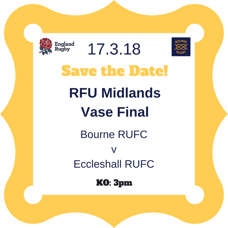 RFU Midlands Junior Vase Final