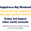 BRUFC RugbyForce - 4th August