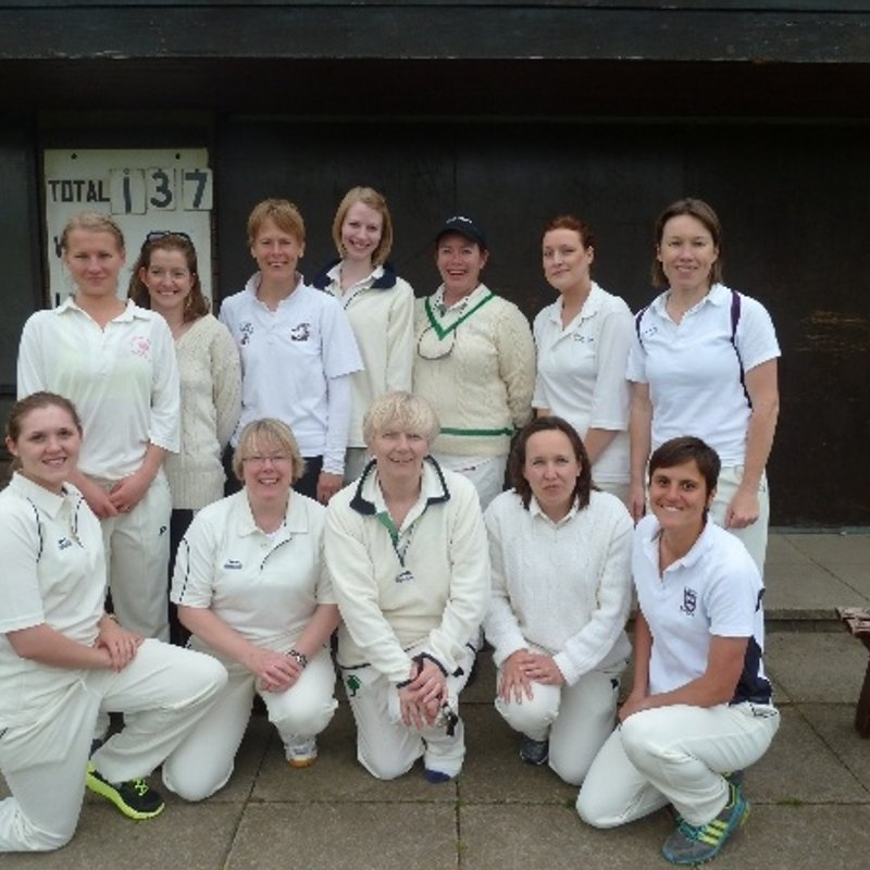 Battisford & District CC - Womens 1st XI 59/9 - 166/2 Saffron Walden CC - Women and Girls 1st XI