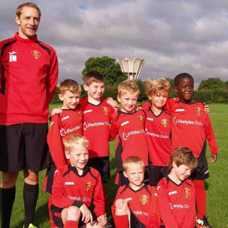 U7 Jaguars vs Colerne Colts U7 Sep 2016