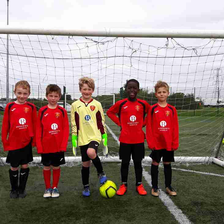 New Sponsor for AFC Corsham U8 Jaguars