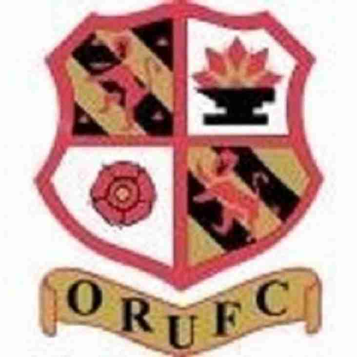 The rugby continues this weekend at Orrell RUFC as our Mini and Junior Section are also in action