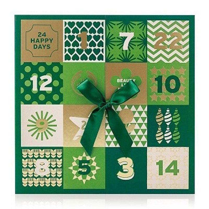 24 HAPPY DAYS WITH THE BODY SHOP ADVENT CALENDAR