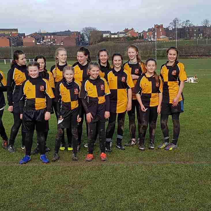 Orrell RUFC Girls Rugby