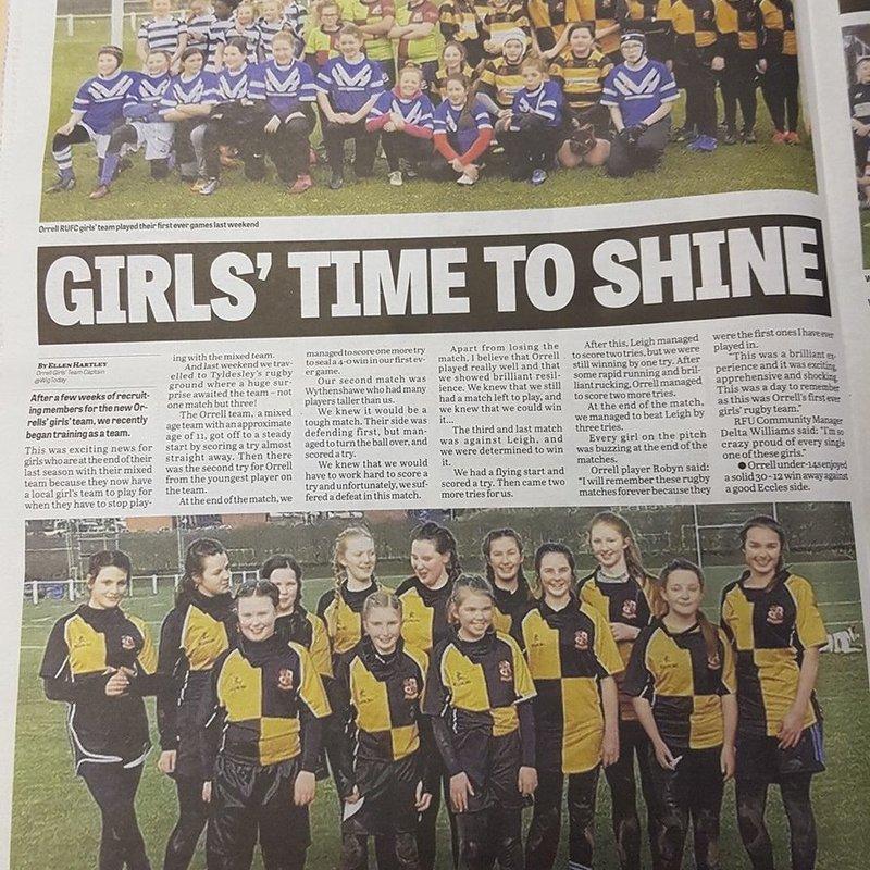 Girls Time to Shine