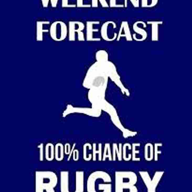 It's another full weekend of rugby at Orrell RUFC