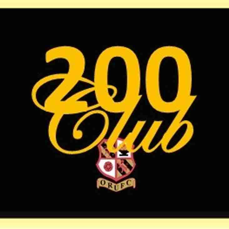 Orrell RUFC 100 Club set to become the 200 Club!