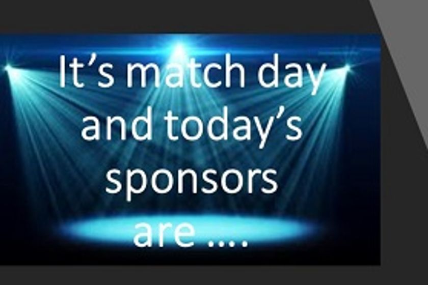 It's Cup Match Day and Today's Sponsors are ......