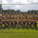It was a raucous atmosphere for Orrell's visit to Woodshaw Park for the return away fixture against Aspull.