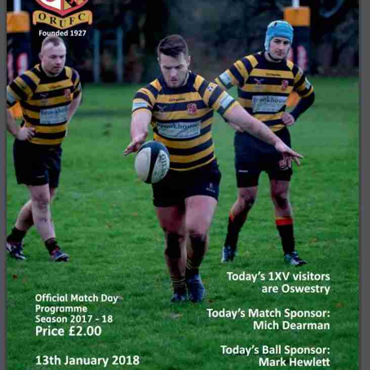 Missed the 1XV vs Oswestry match on Saturday?