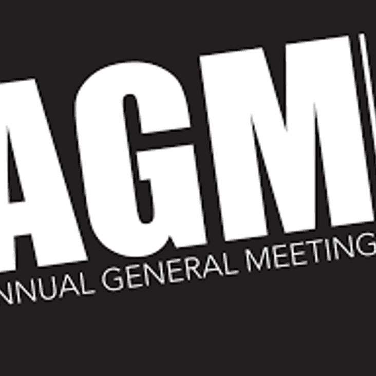 This time next week we'll be getting ready for the AGM