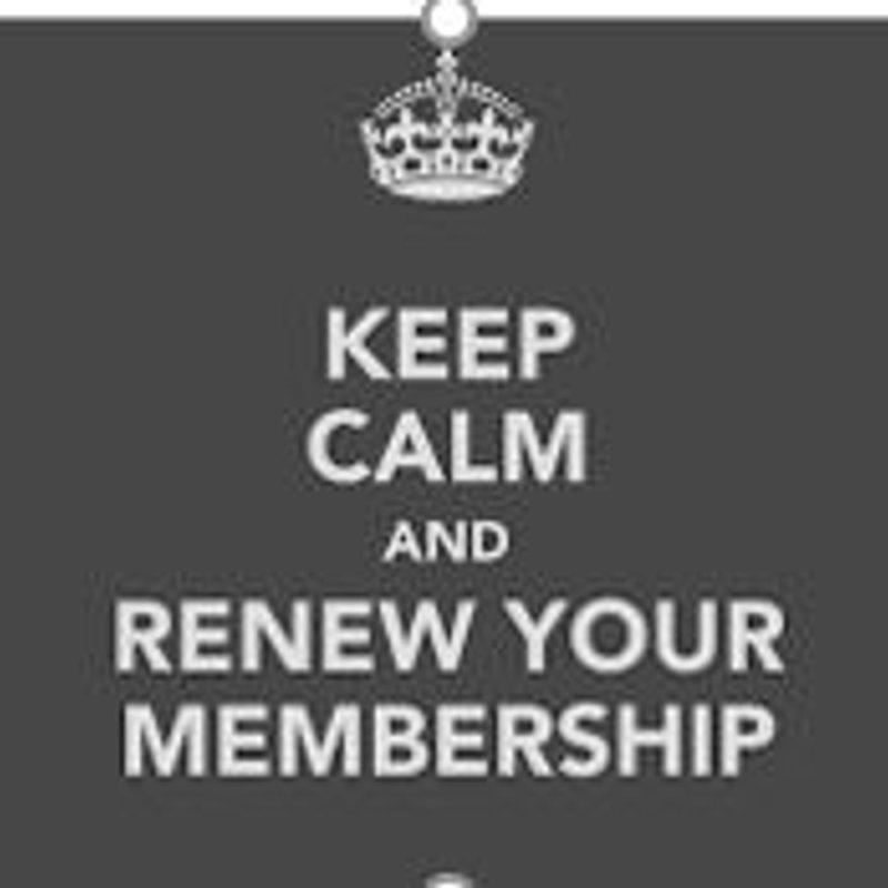 It's that time of year again ….. Membership Renewal Time