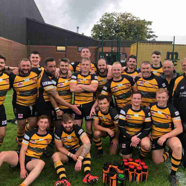 Read how our 1XV secured their third win of the league season in our match day report