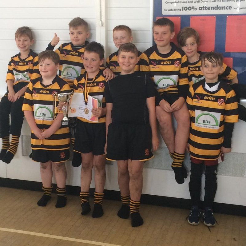 Another of our Mini and Junior Section teams showcasing great rugby here at Orrell RUFC