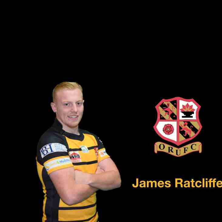 Good luck James Ratcliffe!  Representing Orrell RUFC tonight playing for the Lancashire Royals