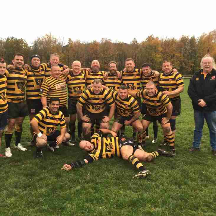 Not just rugby but rugby sportsmanship for our Vets game vs  Aspull RUFC