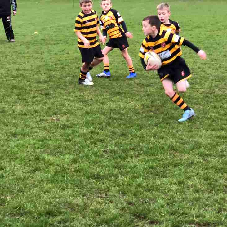 What a great start to our Orrell RUFC U9s  first union game of 2019, as Warrington played great hosts to Orrells under 9s
