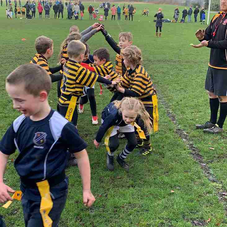 Some great play and excellent sportsmanship from our U8s