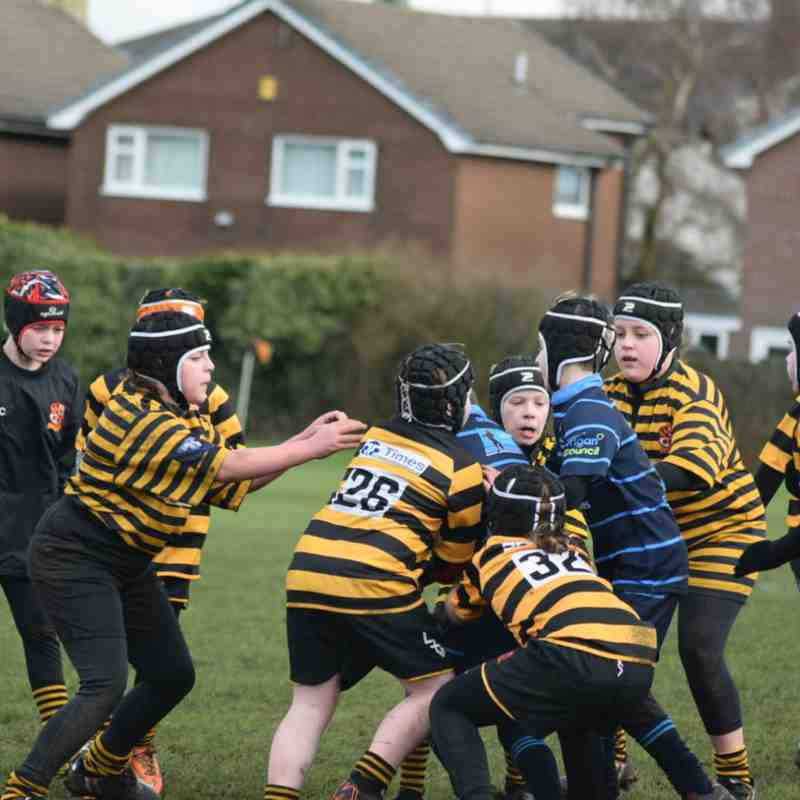 U10s vs Aspull Sunday 10 February 2019