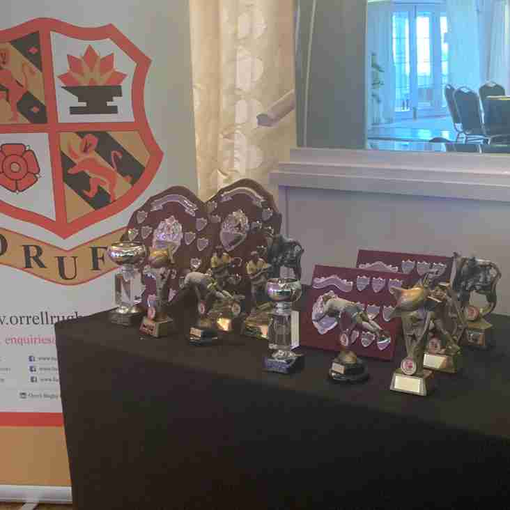 Another great evening at the Orrell RUFC Presentation Evening
