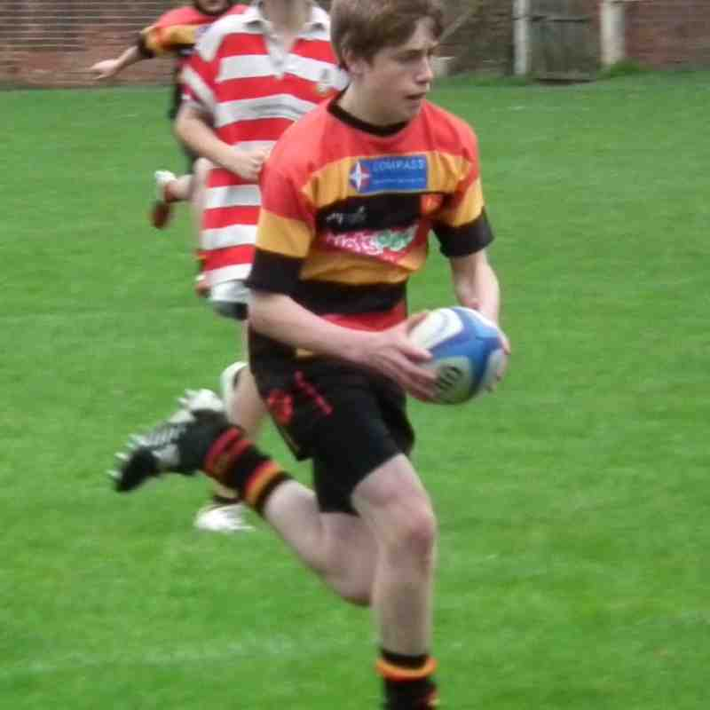 U14 v Wetherby - Yorkshire Cup First Round