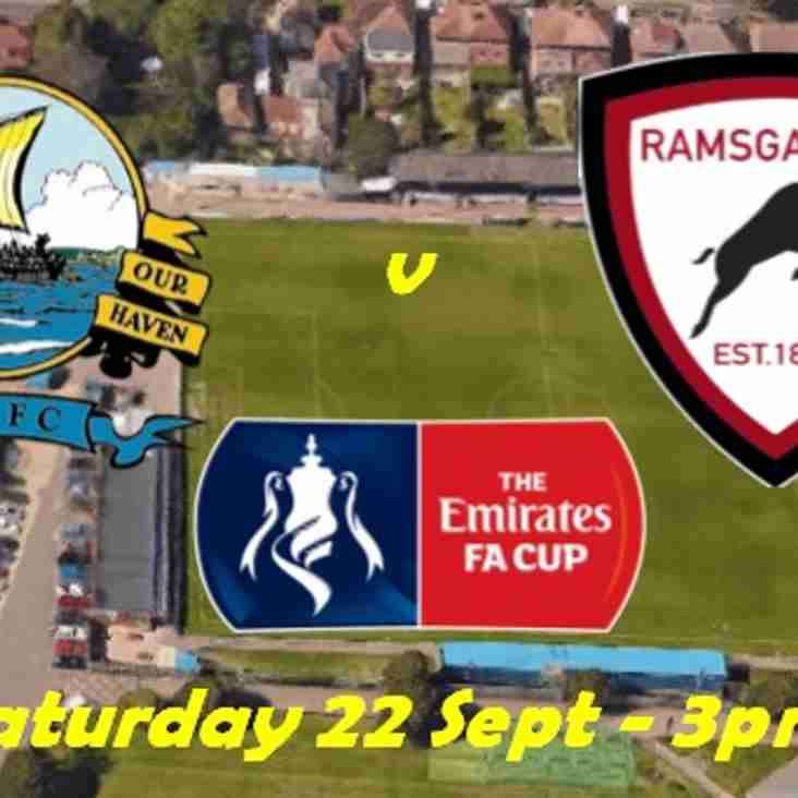 22 Sep: Ramsgate on the road to Gosport