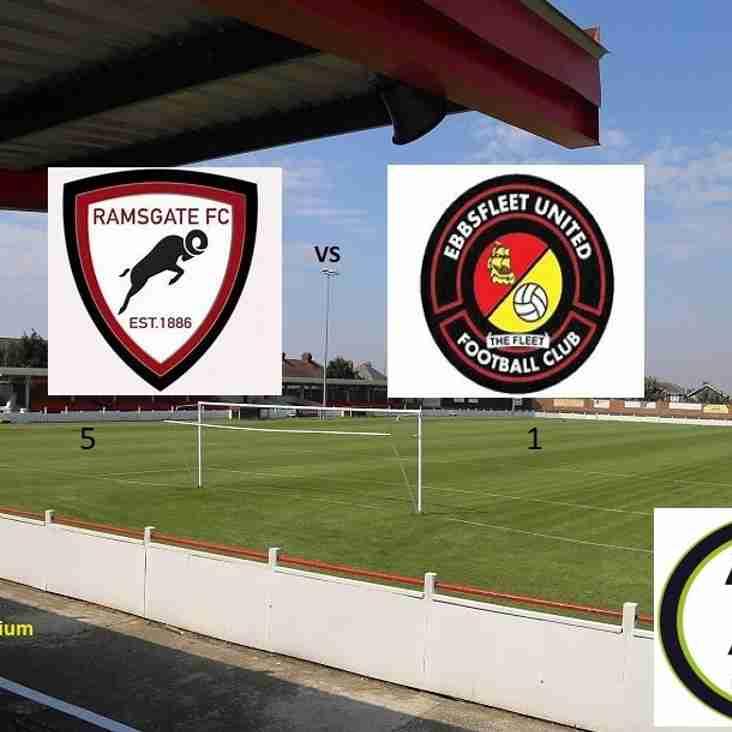 19 Sep: Ramsgate 5 - 1 Ebbsfleet United