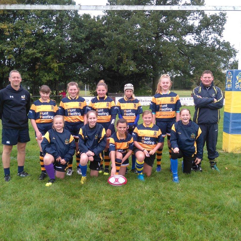 U13s Girls at Peterborough Festival