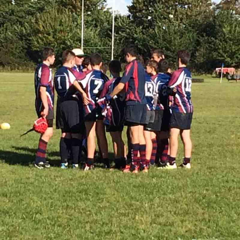 Under 14s v Fordingbridge  - Sun 16 Oct 2016